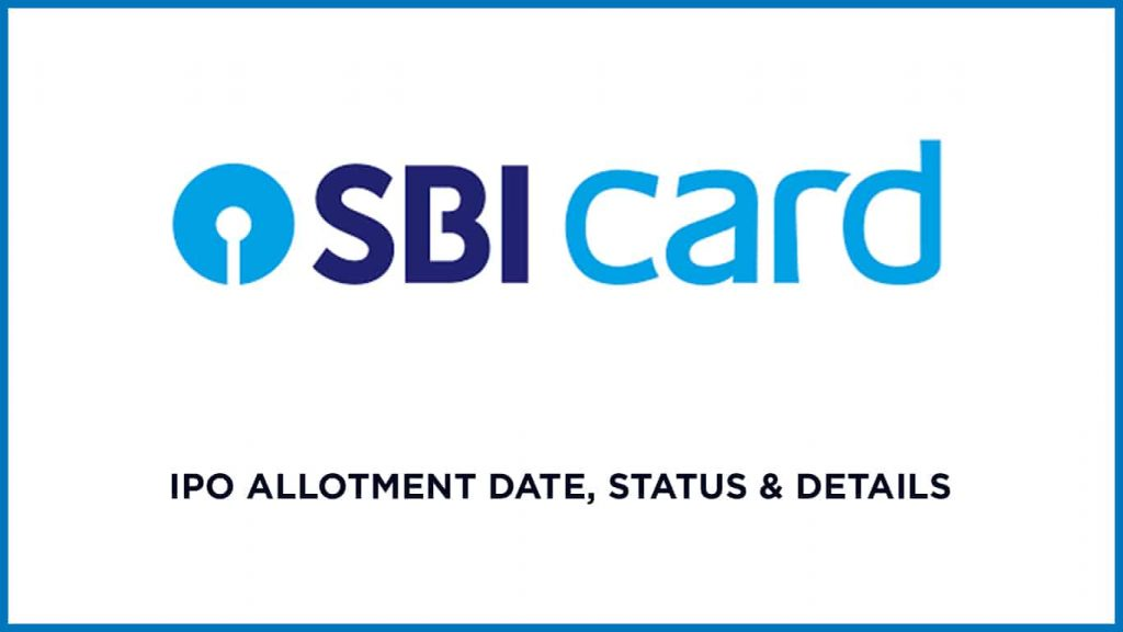 SBI Cards IPO Allotment Status Online, Date & Details 2
