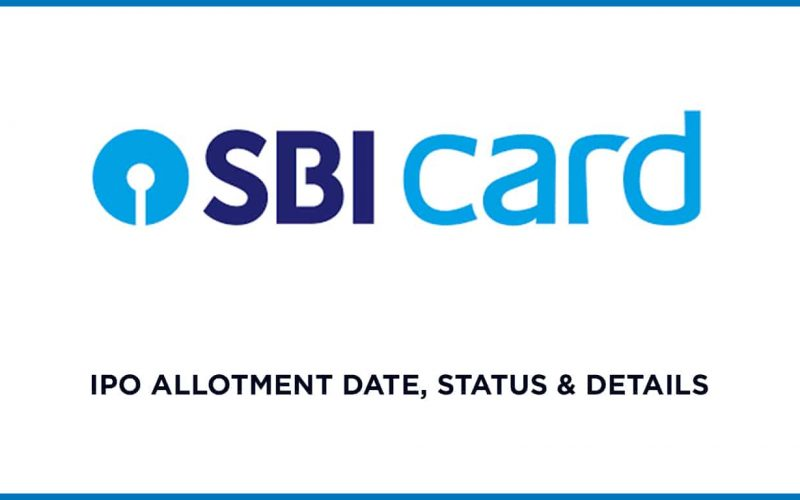 SBI Cards IPO Allotment Status Online, Date & Details 1