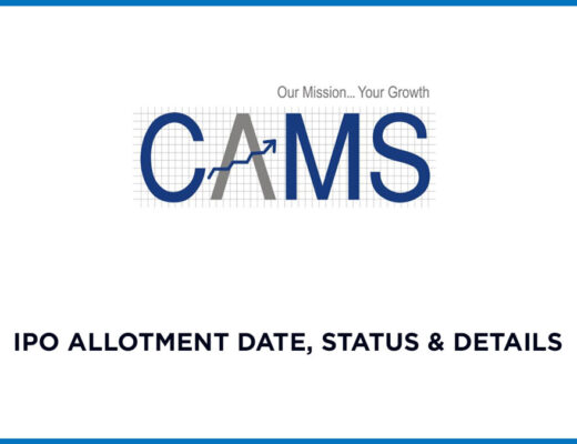 CAMS IPO Allotment Status