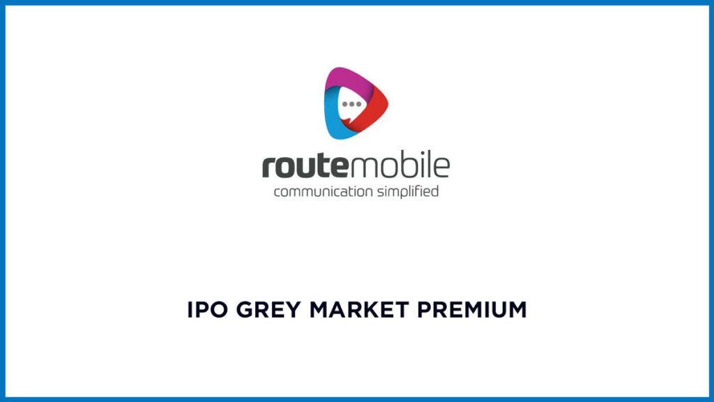 Route Mobile IPO Grey Market Price Today 1