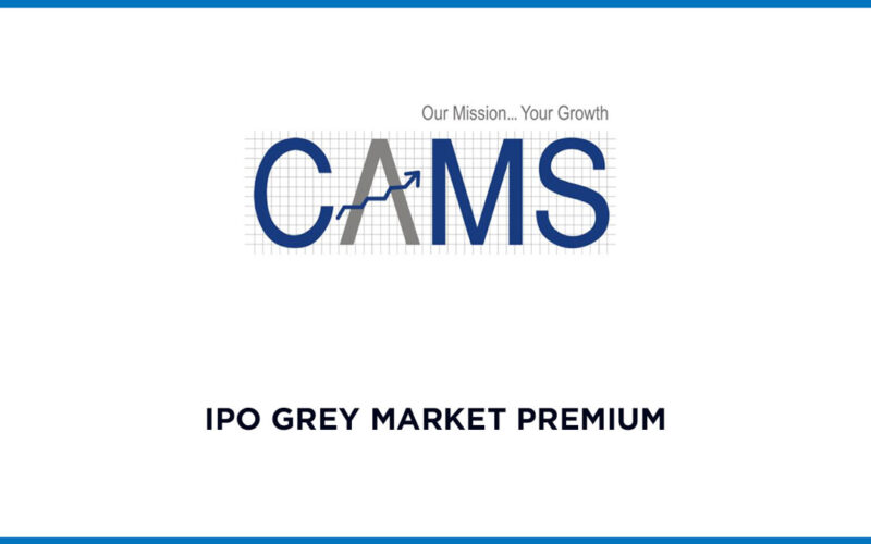 CAMS IPO Grey Market Premium Today 1