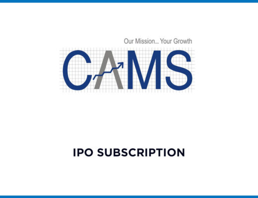 CAMS IPO Subscription Data (Live) 1