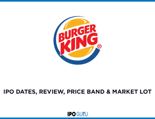 Burger King IPO Date review price band and market