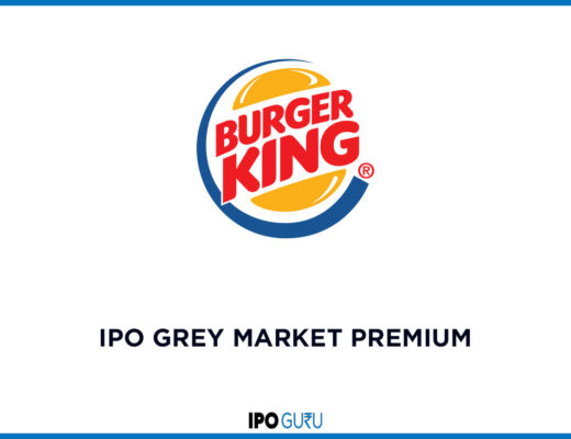 Burger King IPO GMP Grey Market Premium