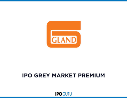 Gland Pharma IPO Grey Market Premium/Price (GMP)