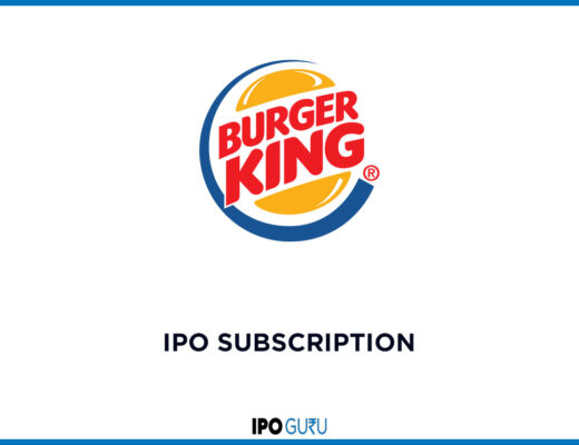 Burger King IPO Subscription data live