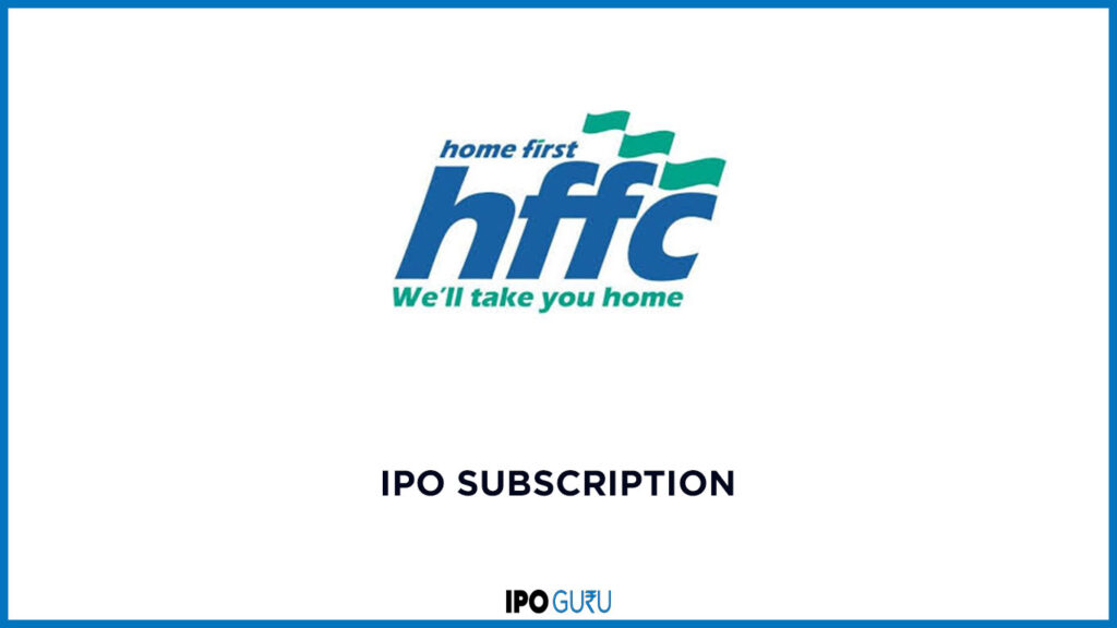 Home First Finance IPO Subscription data live