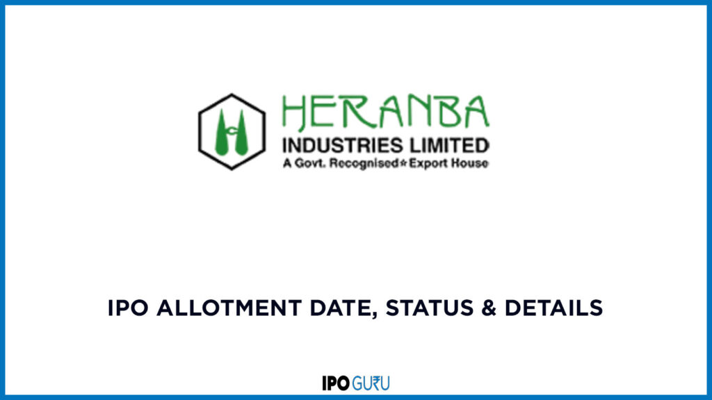 Heranba-Industries-Limited-IPO-Allotment-Date-Status