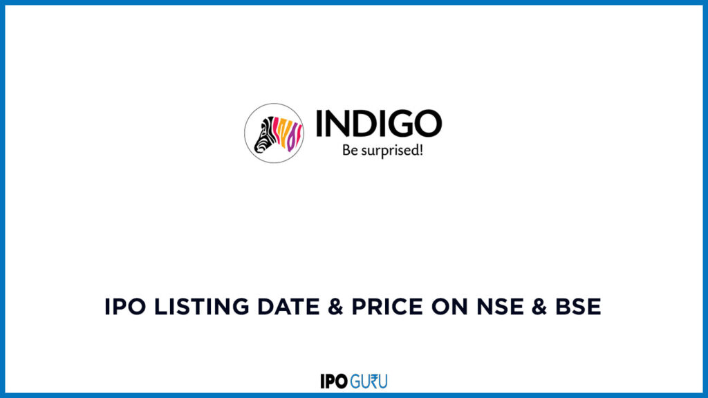 Indigo Paints IPO Listing date and price on BSE and NSE