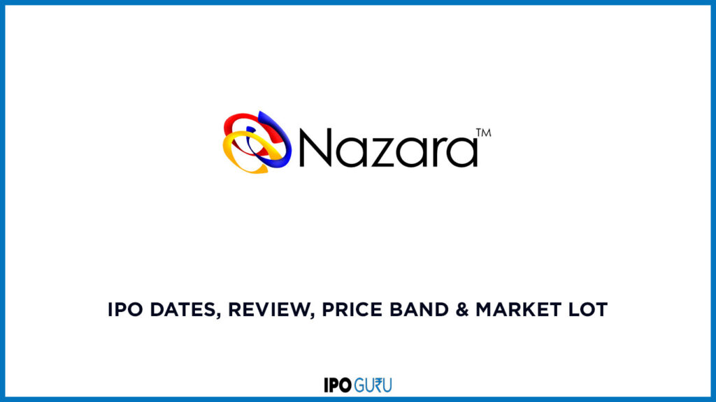 Nazara Technologies IPO Dates Review Price band and market lot