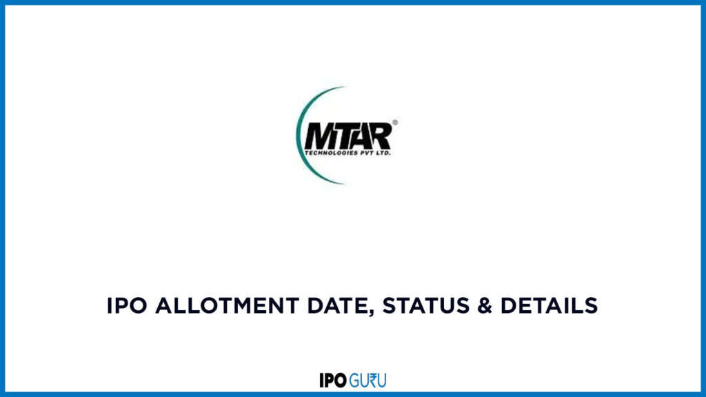MTAR-IPO-Allotment Date status and details