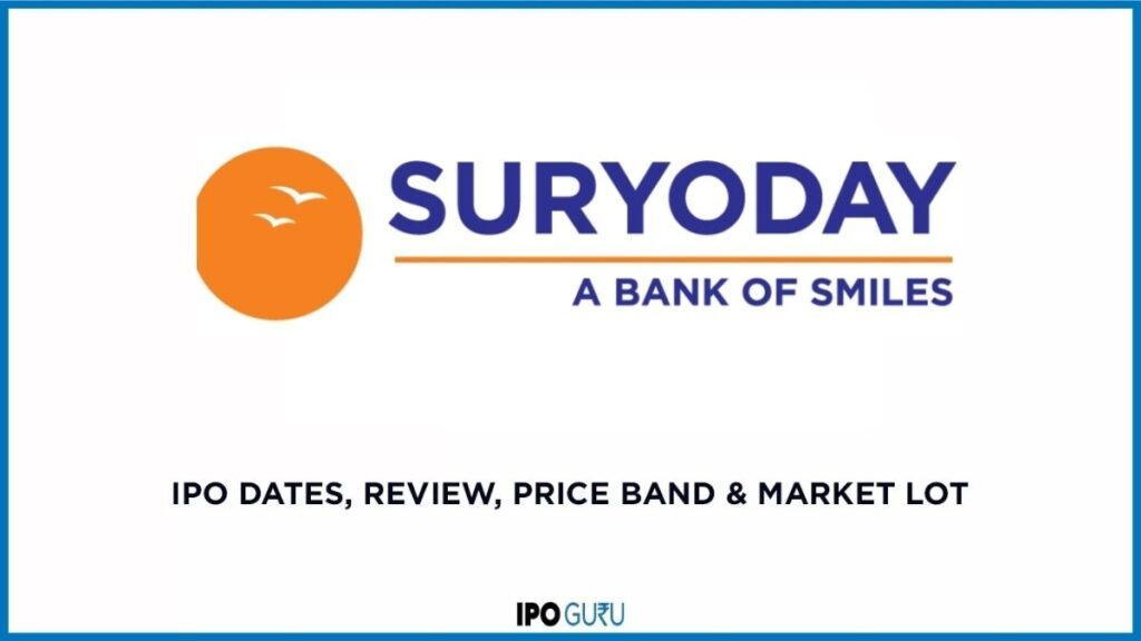 Suryoday Bank IPO Date Review Price Band and Market Lot